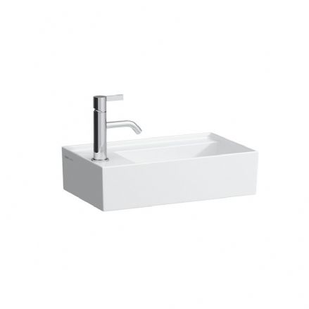 815335 - Laufen Kartell 460mm x 280mm Small Washbasin with Left Tap Bank - 8.1533.5